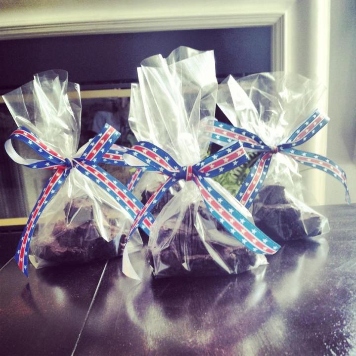 Brownies I made.