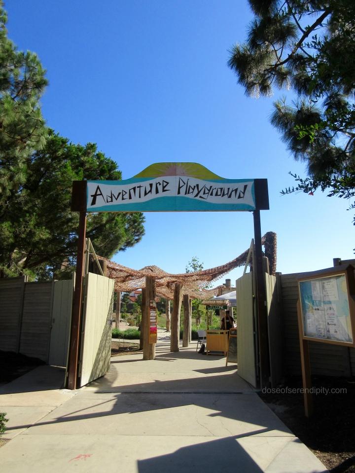 adventure playground entrance